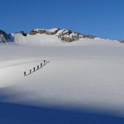 Slide Randonnée Glaciaire