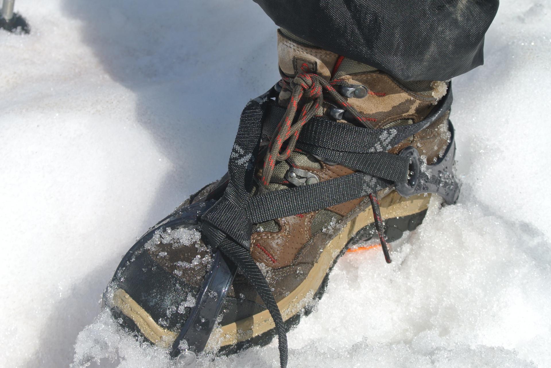 chaussure et crampon
