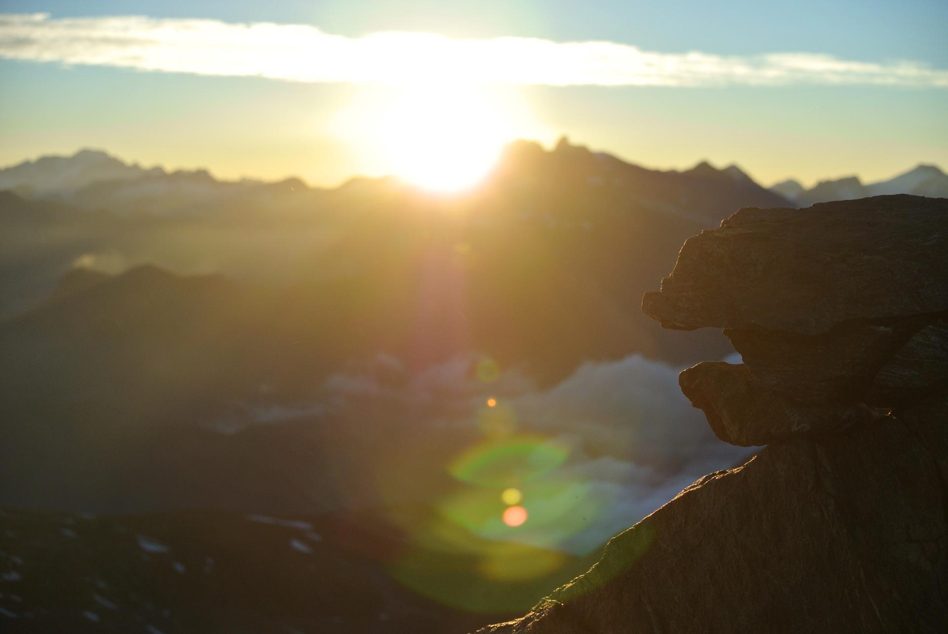 lever de soleil col de labby
