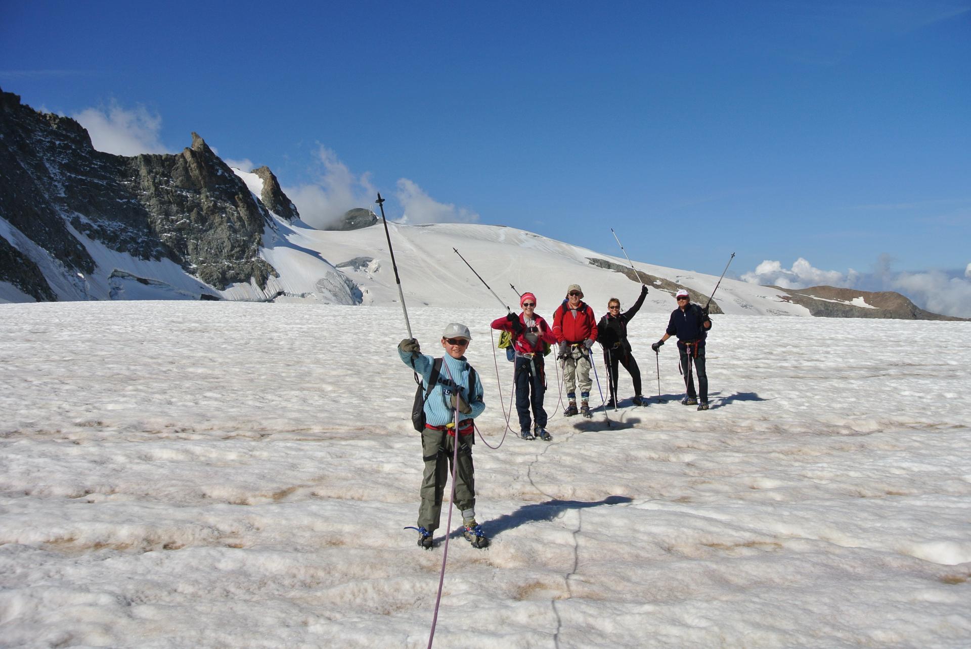 Ce glacier est très accessible