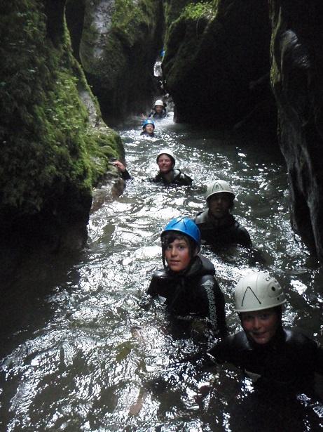 Un canyon très aquatique
