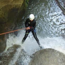 Rappel au canyon du Grenant