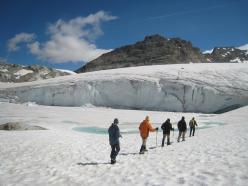 Front glaciaire du Gran Méan