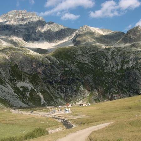 Mont cenis rifugio scarfiotti