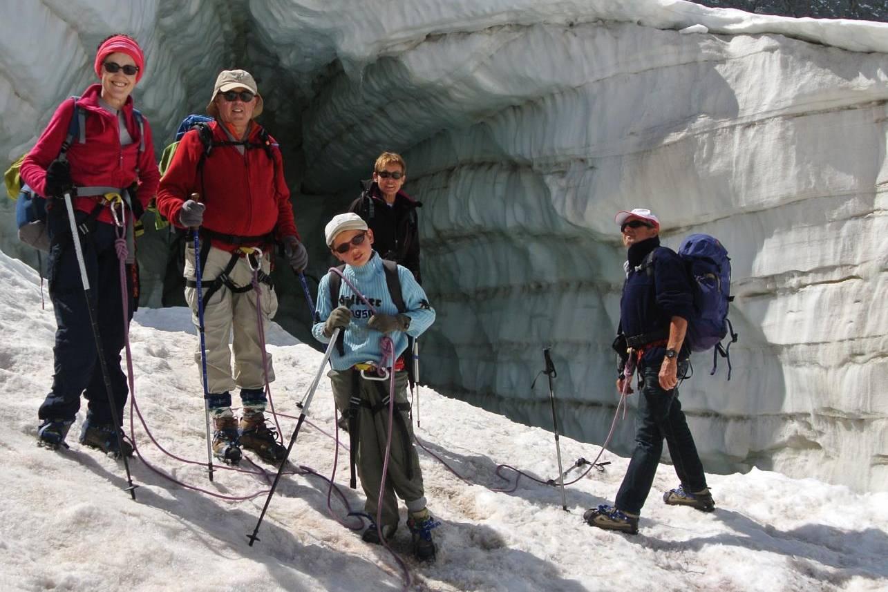 Promenade sur glacier